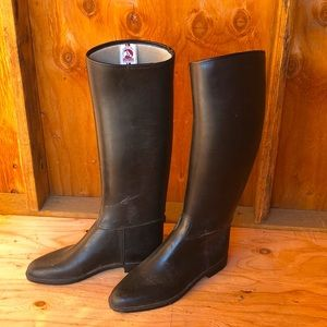 Cottage Craft Tall Black Horse Riding Boots
